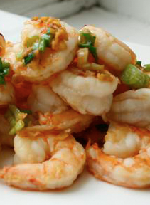 Classic Dry-Fried Pepper And Salt Shrimp Recipe — Dishmaps