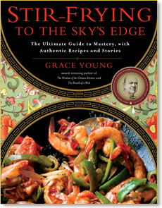 Stir frying to the sky 39 s edge grace young for Asian cuisine books