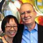 Grace Young and Leonard Lopate
