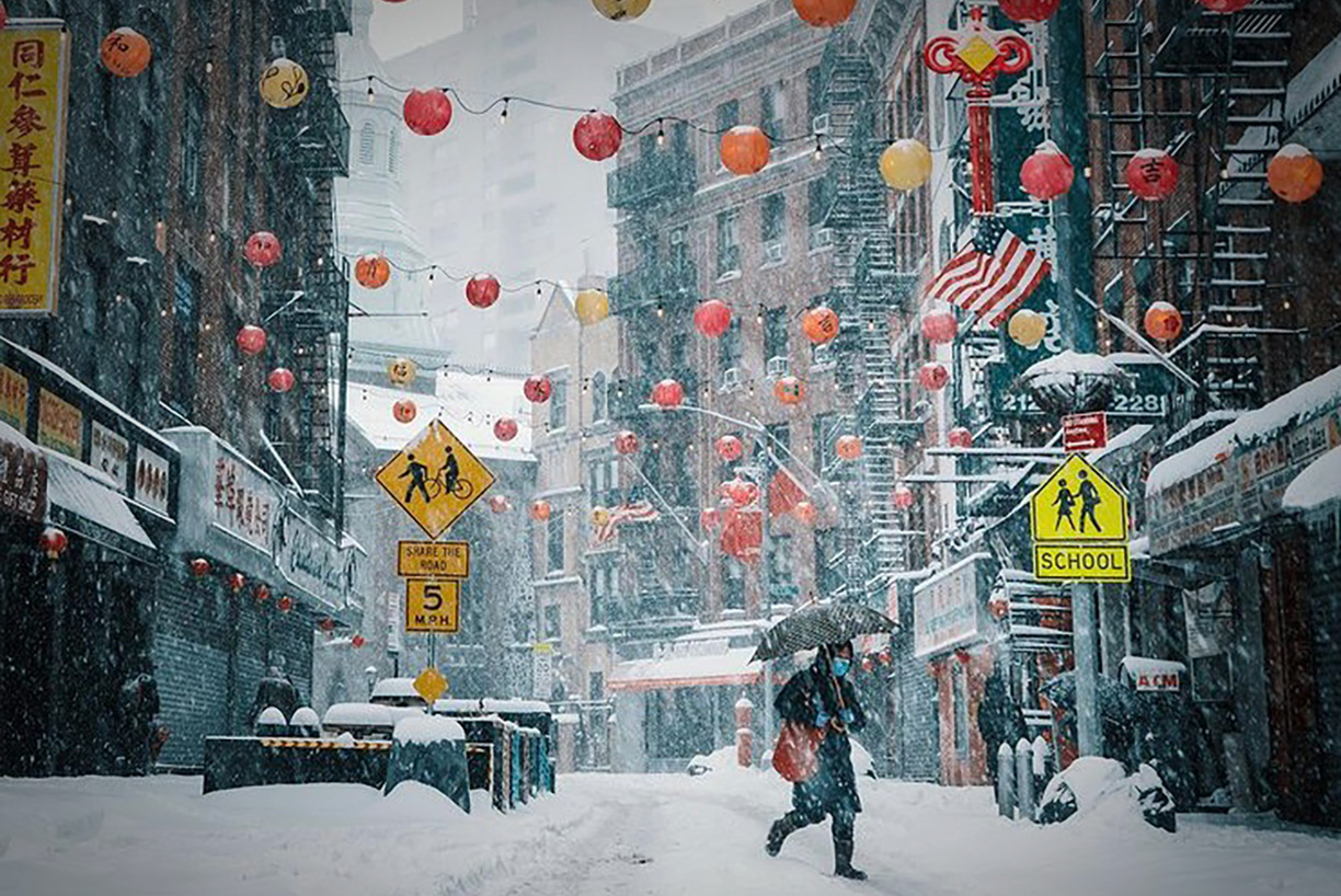 The accidental voice of Chinatown